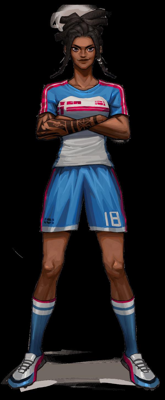 Rezzil Player Woman Football